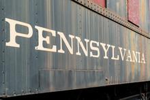 Old Pennsylvania Locomotive