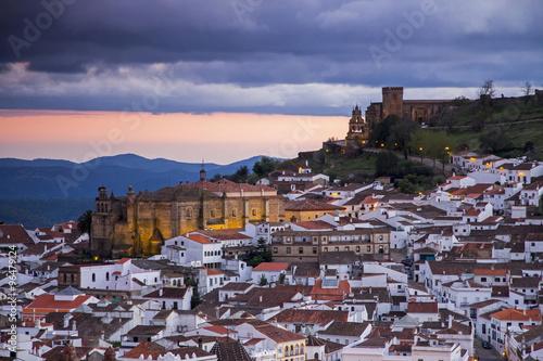 Castillo e iglesia de Aracena