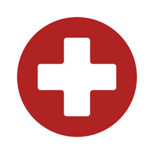 First Aid Medical Sign Flat Ic...