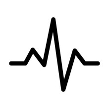 Heart Monitor Pulse Line Art I...