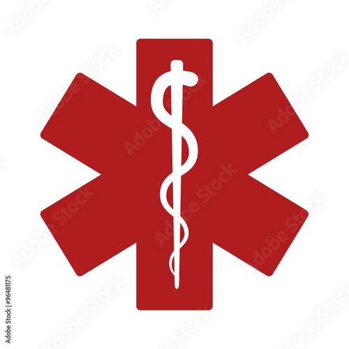 medical alert emergency ems flat icon for apps and websites buy rh stock adobe com Alert Vector Annoncement Reminder Alert Clip Art