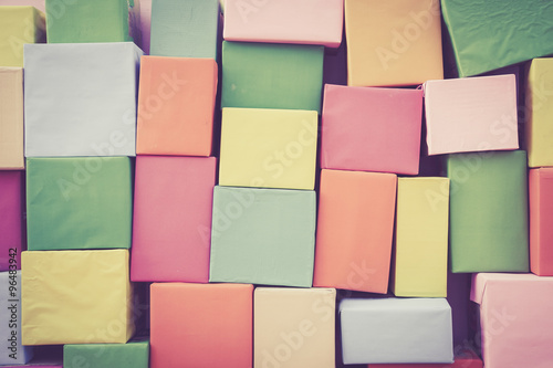 Fototapety, obrazy: Abstract wallpaper rainbow Colorless Paper background