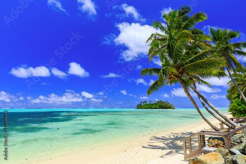 Vászonkép Rarotonga, Cook Islands