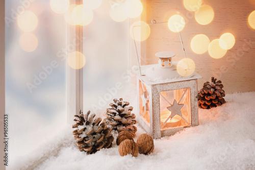 Photo  Gemütliche Weihnachtsdekoration
