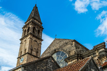 St. Nickolas Cathedral And Belfry, Perast, Montenegro