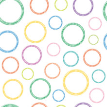 Circles Of Different Colors On...
