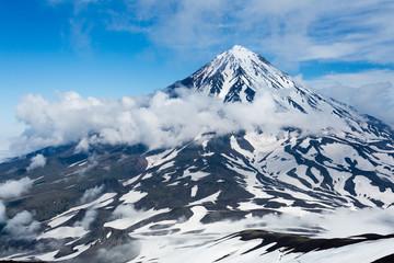 Koryak Sopka- active volcano in Kamchatka