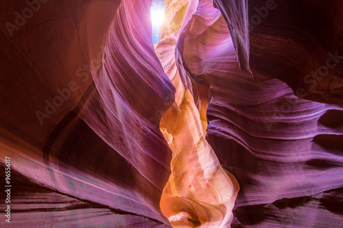 Poster Antilope Antelope Canyon in Page, Arizona