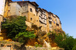 Hanging Houses on rocks in Frias. Province of Burgos