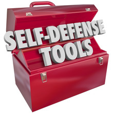 Self-Defense Tools Red Metal T...