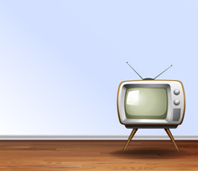 Old Television In The Room