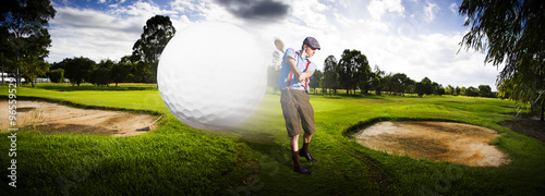 Fotobehang Golf Top Flight Golf
