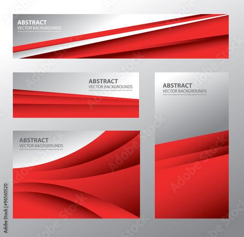 Fotografie, Obraz  Abstract Poland Flag, Polish Colors (Vector Art)