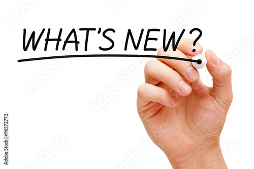 What is New Black Marker Canvas Print