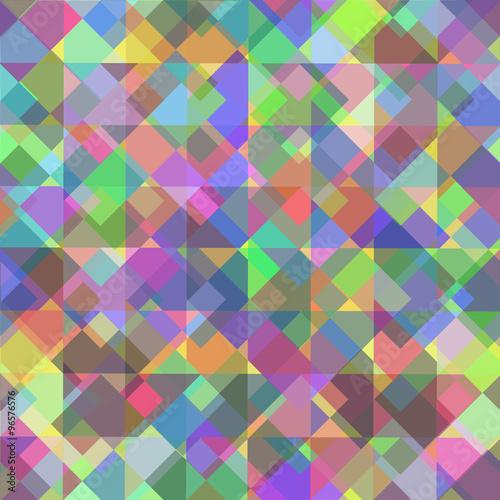 Fotobehang ZigZag Geometric pattern, triangles background. Eps10 vector illustrati