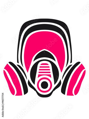 Photo  gasmask breaking Cook Mochen meth crystal pink bathroom
