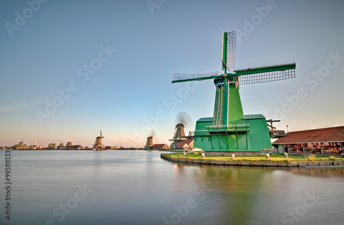 Photo  Zaanse Schans Windmills