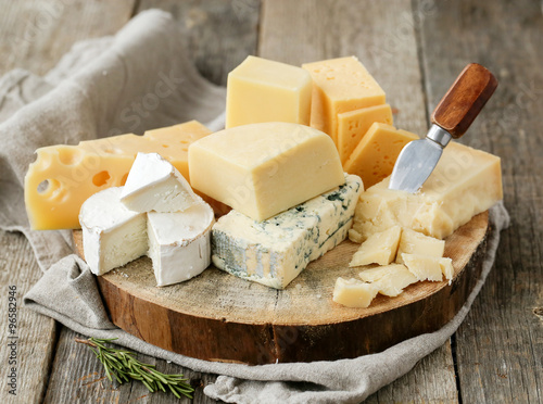 Poster Dairy products Cheese