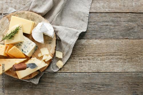 Fotobehang Zuivelproducten Cheese