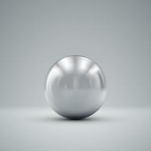 3D Metallic Sphere