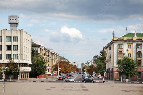 Civic Avenue in Belgorod. Russia Wallpaper Mural