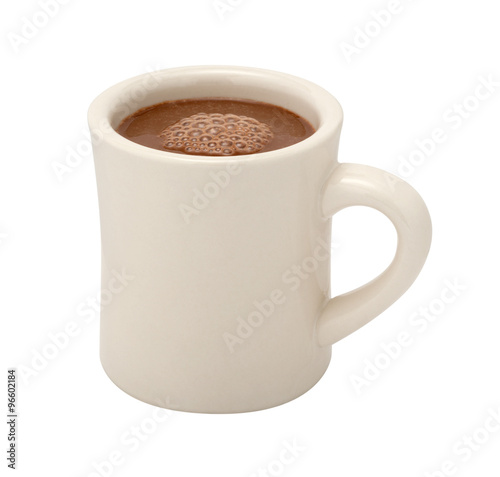 Recess Fitting Chocolate Hot Chocolate Mug isolated