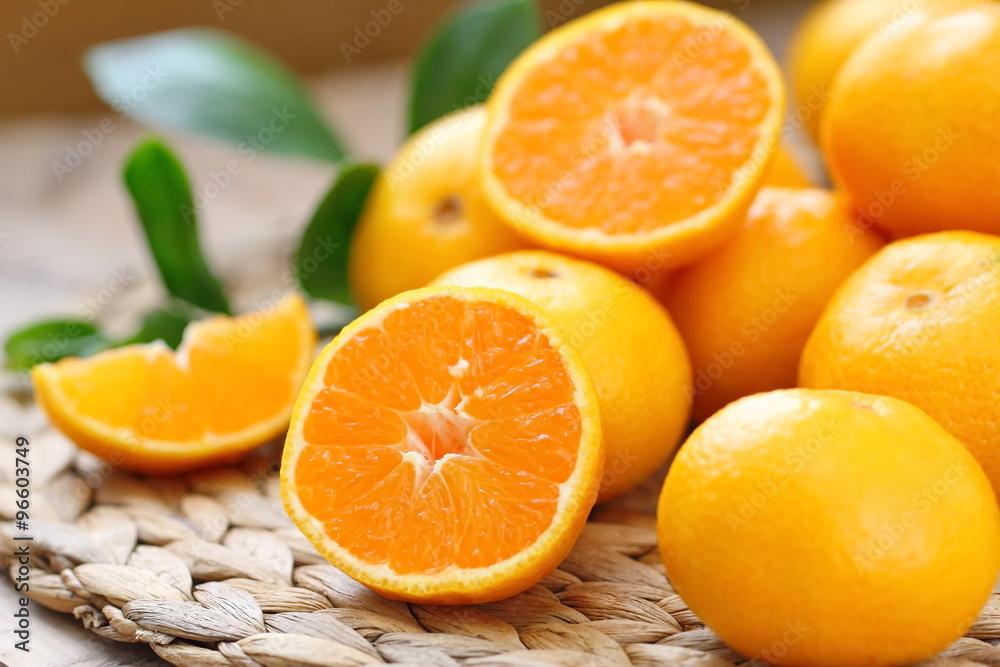 Fototapeta Fresh oranges