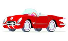 Caricatura Chevrolet Corvette ...