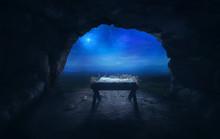 Manger In Cave
