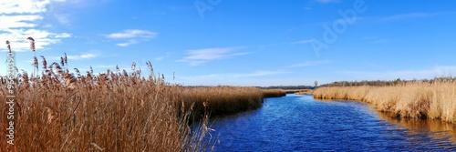 fototapeta na lodówkę Federsee Kanal