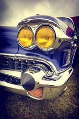 Naklejkaclassic american car in vintage style