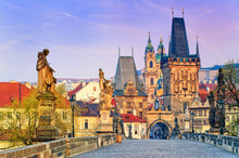 Charles Bridge And The Towers ...