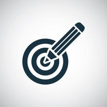 Pencil Target Icon