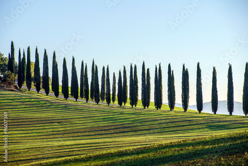 Photo  Tuscany landscape