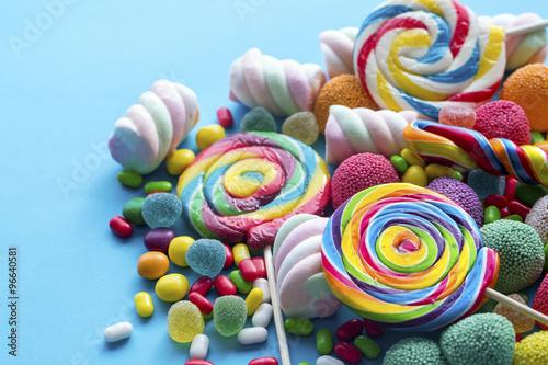 Wall Murals Candy Renkli Şekerler