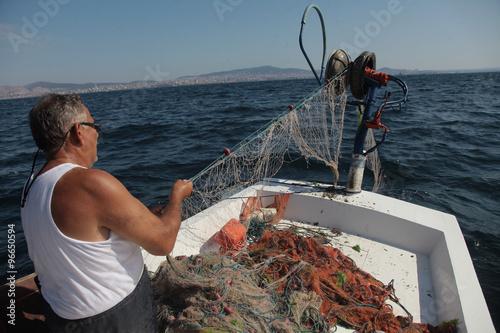 balıkcı Canvas Print