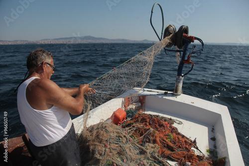 Leinwand Poster  balıkcı