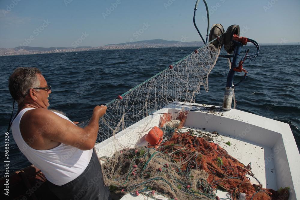 Fotografia, Obraz  balıkçı