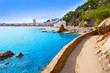 Cami de Ronda track Lloret de Mar of Costa Brava