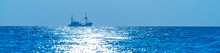 Trawler Fishing In Moonlight A...
