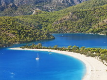Oludeniz Lagoon In Sea, Beach ...