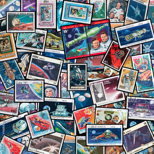 Deurstickers Nasa space exploration