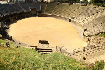 Stubište na vintage stadionu