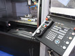 CNC Machine control panel closup
