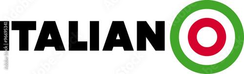 Italiano logo - 96695341