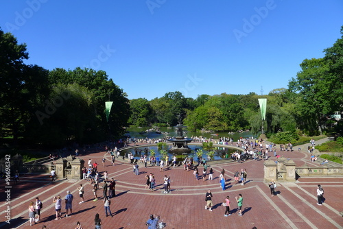 Photo  Bethesda Terrace in Central Park