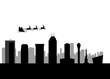 santa flying city of indianapolis