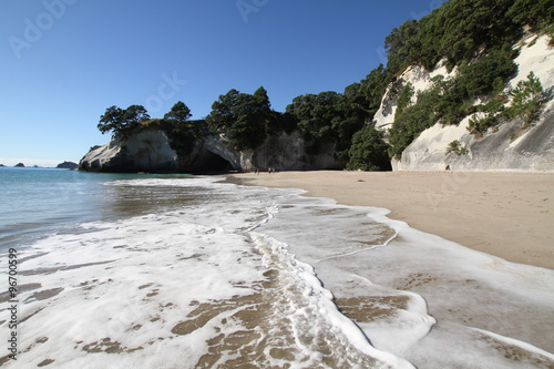 Deurstickers Cathedral Cove Cathedral Cove, Neuseeland