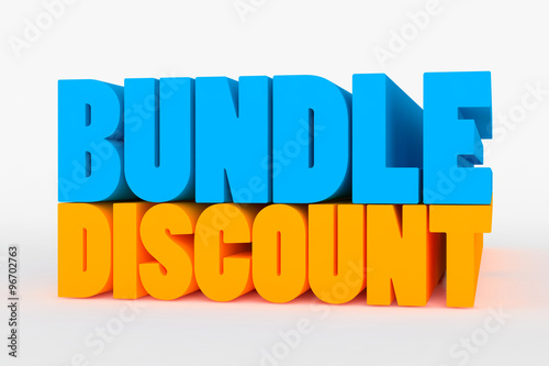 Photo Big 3D bold text - bundle discount