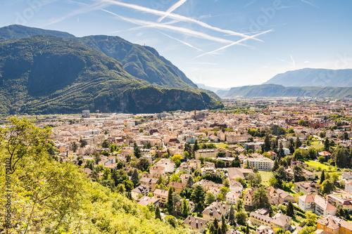 Fototapeta  Pohled přes Bolzano